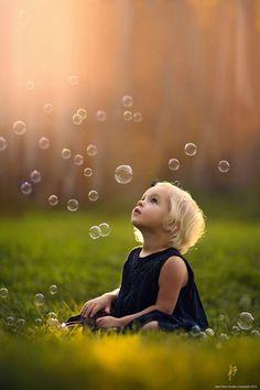 """""""nunca perder la capacidad de asombro""""..bubbles !!"""