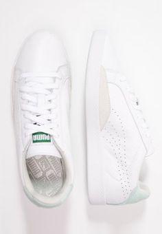 Puma MATCH - Sneaker - white/fair aqua - Zalando.de