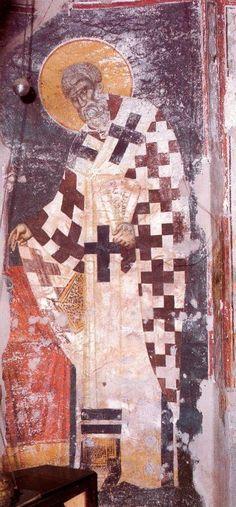manuel-panselinos-from-the-holy-church-of-the-protaton (26) Byzantine Art, Byzantine Icons, Orthodox Icons, Sacred Art, Illuminated Manuscript, Fresco, Holi, Christian, Painting