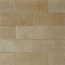 Found it at Wayfair - x Travertine Subway Tile in Tierra Blanca Small Kitchen Cabinets, Kitchen Tile, Brick Tiles, Wall Tiles, Best Floor Tiles, Travertine Tile, Shower Remodel, Subway Tile, Bathroom Flooring