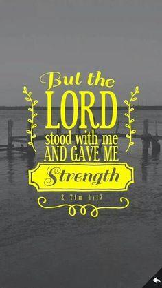 2 Tim. 4:17