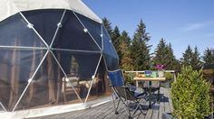 Whitepod - a new highly exclusive Alpine experience - Switzerland Tourism
