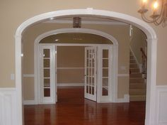 Arch Transom French Doors Side Lights Traditional Entry By Curvemakers Inc