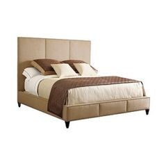 Henredon Acquisitions Upholestery Carlyle King Bed
