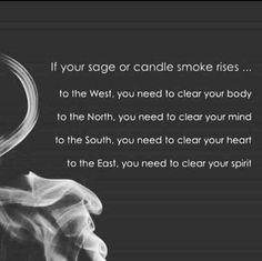 sage or candle smoke Smudging Prayer, Sage Smudging, Spiritual Cleansing, Spiritual Wellness, Soul Cleansing, Energy Cleansing, Spiritual Beliefs, Spiritual Power, Spiritual Wisdom
