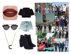 """Day With The Vamps"" by marianaraposo on Polyvore featuring T By Alexander Wang, Monsoon, Christian Dior and KC Designs"