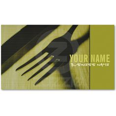 Restaurant/Caterer Business Cards.  Stand out from the crowd with custom business cards. Upload your own logo, photo, or graphic, or use a pre-existing template. Zazzle business cards are professionally printed for all of your networking needs. Customize each side of your business card and choose from hundreds of font styles for free!