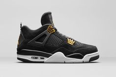 separation shoes 7557a aa7e2 Air Jordan 4 Royalty Release Date. The Royalty Air Jordan 4 is a luxurious  version of the Air Jordan 4 releasing in February 2017 dressed in Black and  Gold.