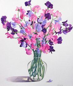 (11) Gallery.ru / Фото #41 - Акварельные цветы от Christopher Ryland - Anneta2012