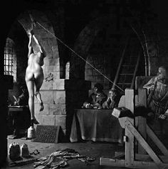 """Men are twisted. Men STILL use this torture today. """"Strappado was probably the most common form of torture used in the Torture Chambers of the inquisition and later European witch-hunts. Spanish Inquisition, The Inquisition, Maleficarum, Atheism, Macabre, Middle Ages, Witchcraft, Wiccan, Christianity"""