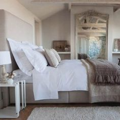 Large Mirror Decorating Master Bedroom Ideas On A Budget