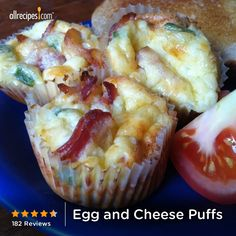 """Egg and Cheese Puffs 