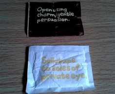 Puccinos sugar messages | Making a Marque (by Waldo Pancake)