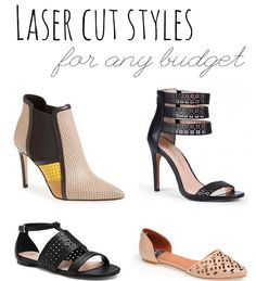 Laser Cut Styles for Any Budget