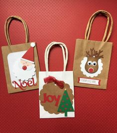 Christmas Gift Bags, Handmade Christmas Gifts, Christmas Minis, Christmas Wrapping, Christmas Tree, Party Gift Bags, Party Favors, Paper Gifts, Paper Bags