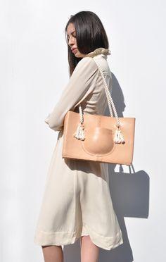 Casey's Spring Shopping Picks | ETABKE OF MANY ORDERS POCKET TOTE BAG | www.WeAreTheSomethings.com