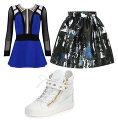awesome by puppylover27-27 on Polyvore featuring Posh Girl, McQ by Alexander McQueen, Giuseppe Zanotti and nicccceeeeee