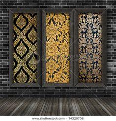 gold thai design