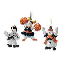 The Denver Broncos Coolest Fans Snowman Ornament Set Denver Broncos Merchandise, Nfl Denver Broncos, Nfl Football, Snowman Ornaments, Christmas Ornaments, Dj Gear, Musical Instruments, Musicals, Holiday Decor