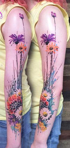 40 Seductive Sleeve Tattoos For Girls   Amazing Tattoo Ideas