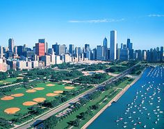 Chicago, Illinois,  Grant Park.    Home of the Taste of Chicago