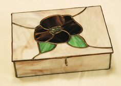 Stained Glass Boxes / Purple Pansy Chest.jpg