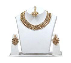 Indian Bollywood Necklace Set Antique Bridal Wedding Wear... https://www.amazon.com/dp/B07B6MKQWJ/ref=cm_sw_r_pi_dp_U_x_XIDSAb6V4MY9Z
