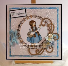 Design Team make for #BeeCraftyStamps - more details on my Blog http://cardsbykerrie.blogspot.co.uk/2015/02/dorothy-bee-crafty.html