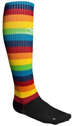 Rainbow Compression Socks
