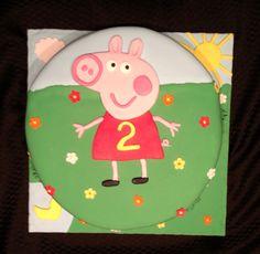 Peppa Pig Cake :)