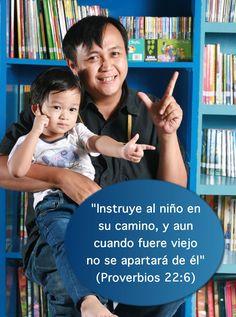 La niñez y la juventud es el tiempo en que los padres tienen la oportunidad de instruir a sus hijos en el camino que deben seguir en la vida. Y los padres cristianos no deben olvidar que la mejor instrucción que pueden dar a sus hijos está en la Palabra de Dios.