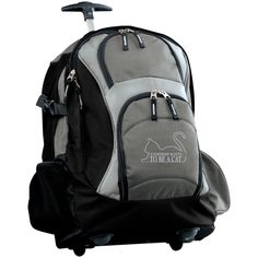 Be A Cat 4 Wheeled Backpack