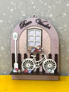 Bicycle Decor, Bicycle Art, Decor Crafts, Wood Crafts, Old Washboards, Pinterest Christmas Crafts, Miniature Crafts, Miniature Houses, Craftwork Cards