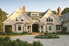 I just can't get enough of the look of this home.
