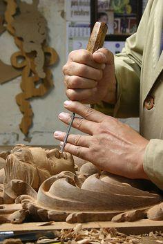 Talla en madera. Priego de Córdoba | Flickr: Intercambio de fotos
