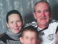 New admirer: Child killer Mairead Philpott (pictured with husband Mick) is said to have struck up a relationship with a new man and is hoping to move in with him when she is freed from prison, it has been claimed