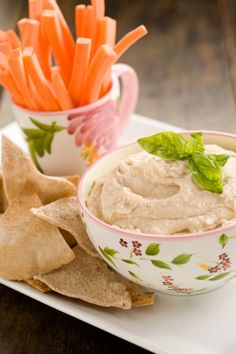 Lightening Fast White Bean Dip
