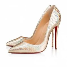 909622ea1458 Christian Louboutin United Kingdom Official Online Boutique - So Kate  Python Laser 120 Platine Python available online. Discover more Women Shoes  by ...