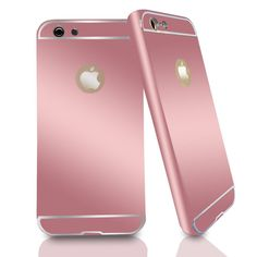 iPhone 7 cases - rose gold metal protective shell w/ FREE glass screen protector