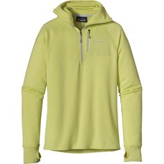 One of Active Junky's favorite fleeces: the Patagonia R1 Hoodie- warm and breathable.