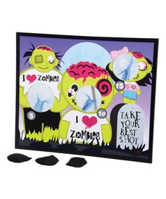 Look at this Zombie Bean Bag Toss on #zulily today!