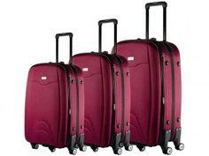 Conjunto de Malas para Viagem Travel Max - MB-LM333 com Cadeado 2 Peças
