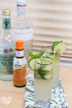 Cucumber Gin Elderflower Smash