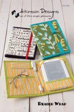 Reader Wrap Pattern - Terry Atkinson Designs