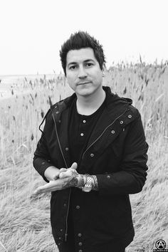 Jaime Preciado of Pierce The Veil on the Second Leg of The World Tour. prints available- http://prints.adamelmakias.com
