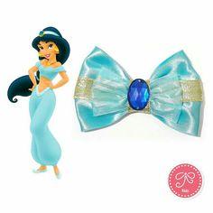 Disney Princess Jasmine Inspired Bow