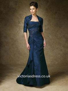 A-line Strapless Sleeveless Satin Mother of the Bride Dress