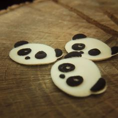 Have a little fun with this Panda Face Applique  #craft365.com