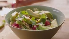 Nigella Lawson rice bowl with ginger and short grain brown rice on Simply Nigella