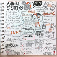 More awesome sketchnote goodness from @evalottchen